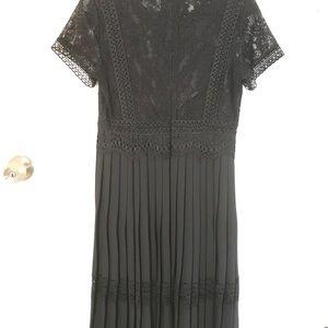 Zara long black dress